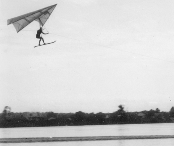 55th anniversary of the first successful flight of the modern hang glider