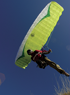 Paraglider (Courtesy Jerome Maupoint)