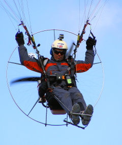 Paramotor (Courtesy Laura Turner)
