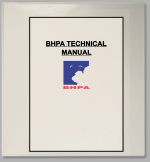 A hard copy of the Technical Manual can be purchased online in the BHPA shop